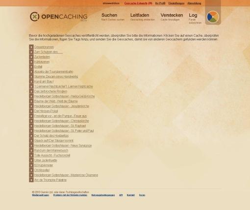 opencaching-upload-eigene-caches-als-entuerfe-gespeichert