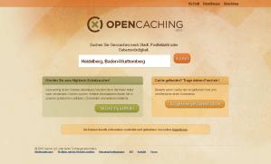 Startseite opencaching.com